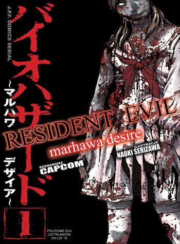 Premiera pierwszego tomu mangi Resident Evil