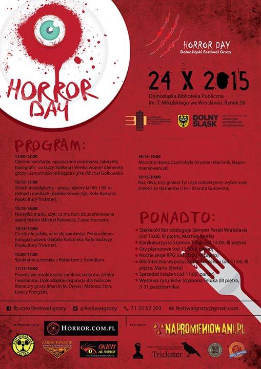 Horror Day – program