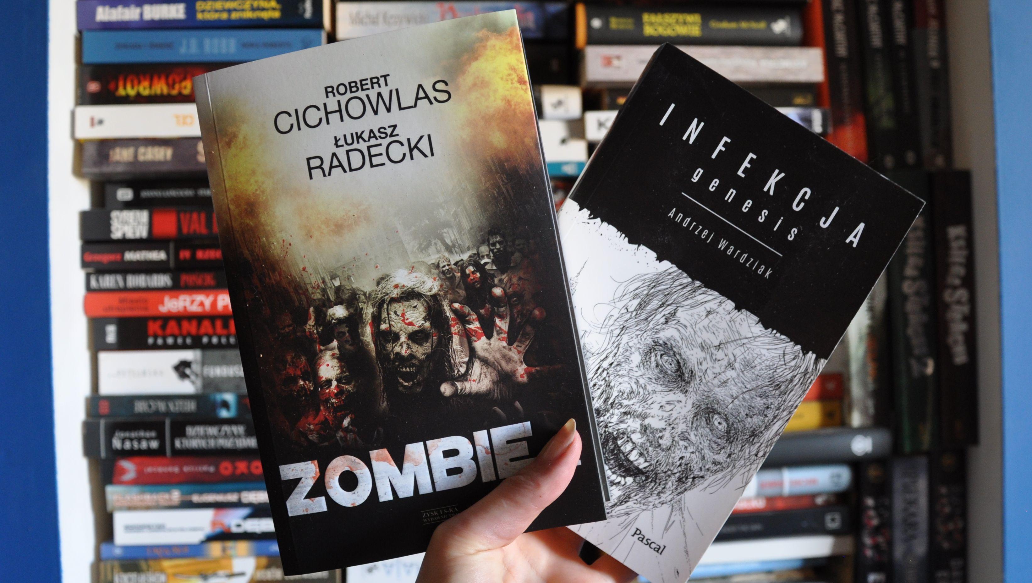 Wpis o książkach z zombie