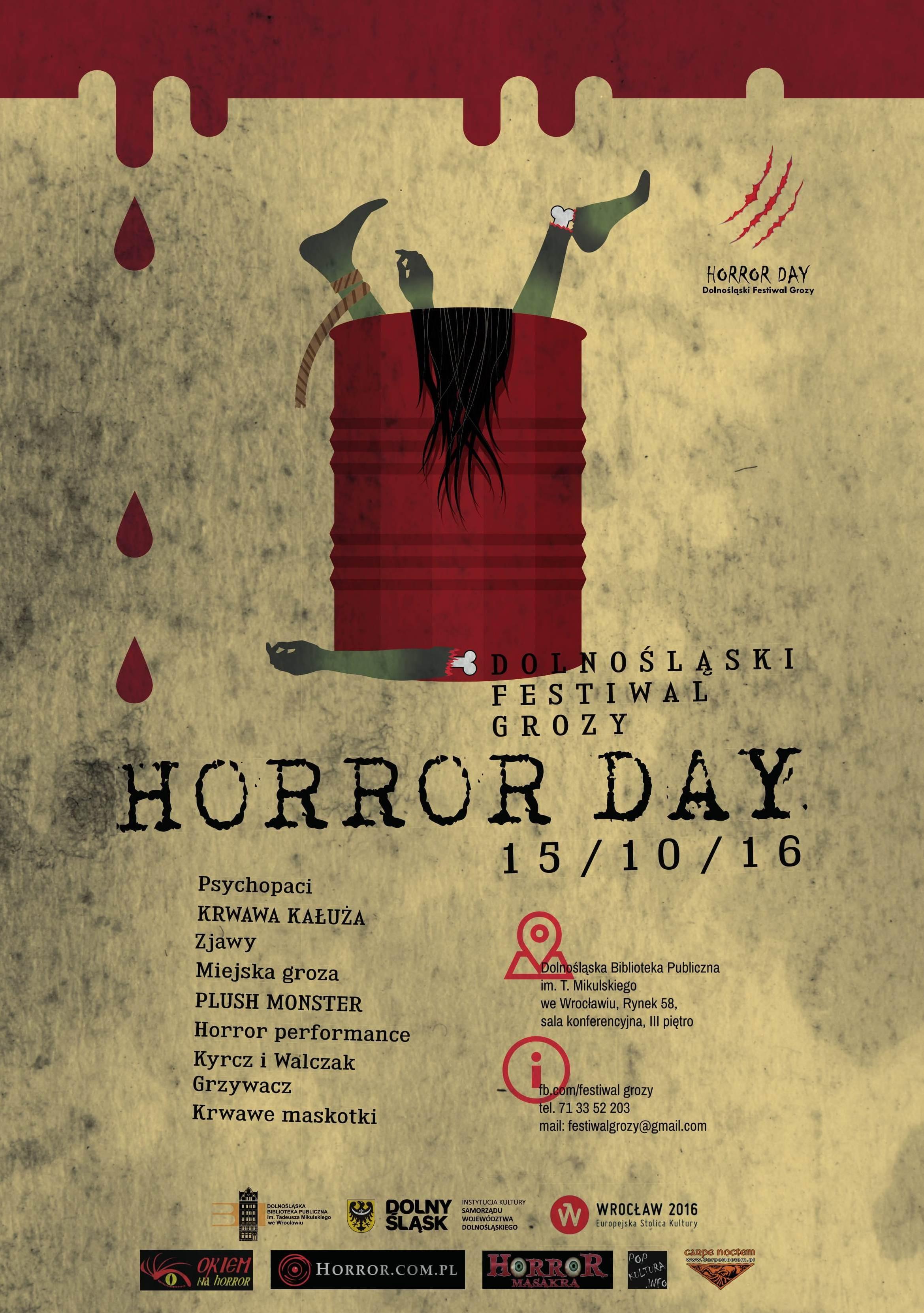 Program Horror Day