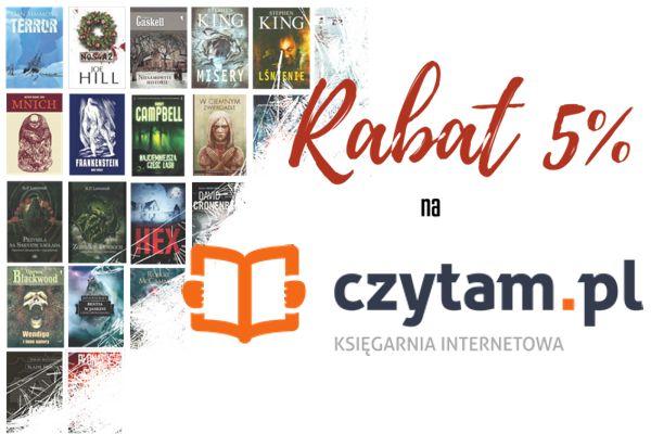 Promocja na grozę na Czytam.pl!