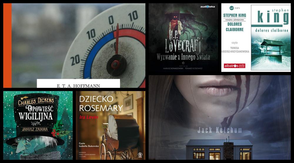 Siedem horrorów w audiobookach na początek